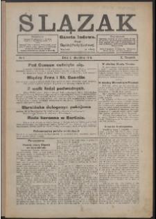 Ślązak, 1918, Nry 1-52