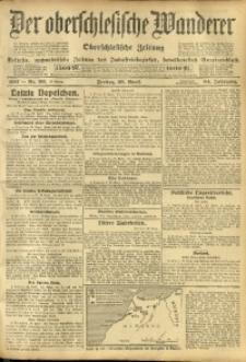 Der Oberschlesische Wanderer, 1911, Jg. 84, Nr. 96