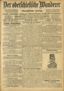 Der Oberschlesische Wanderer, 1913, Jg. 86, Nr. 22