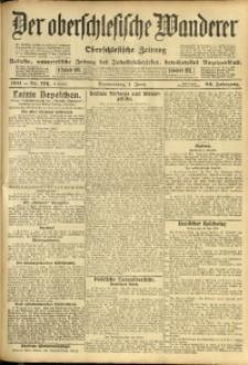 Der Oberschlesische Wanderer, 1911, Jg. 84, Nr. 124