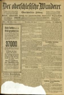 Der Oberschlesische Wanderer, 1911, Jg. 84, Nr. 144