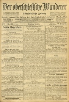 Der Oberschlesische Wanderer, 1911, Jg. 84, Nr. 149