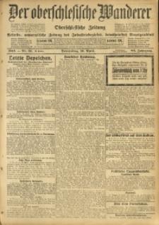 Der Oberschlesische Wanderer, 1913, Jg. 86, Nr. 81