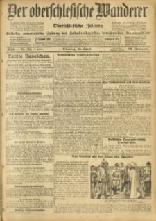 Der Oberschlesische Wanderer, 1913, Jg. 86, Nr. 85