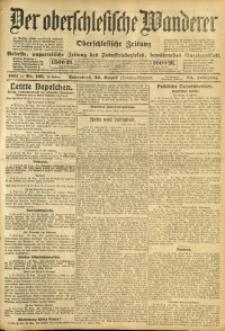Der Oberschlesische Wanderer, 1911, Jg. 84, Nr. 195