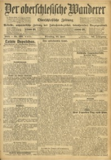 Der Oberschlesische Wanderer, 1913, Jg. 86, Nr. 130