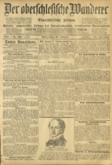Der Oberschlesische Wanderer, 1911, Jg. 84, Nr. 247