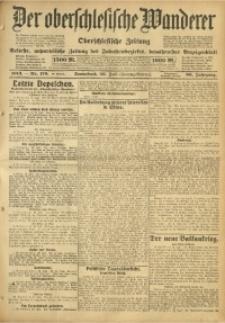 Der Oberschlesische Wanderer, 1913, Jg. 86, Nr. 170