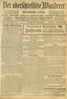 Der Oberschlesische Wanderer, 1911, Jg. 84, Nr. 273