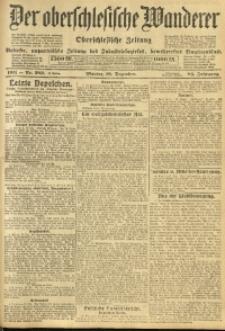 Der Oberschlesische Wanderer, 1911, Jg. 84, Nr. 289
