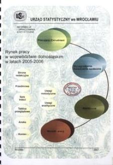 Rynek pracy w województwie dolnośląskim w latach 2005-2006