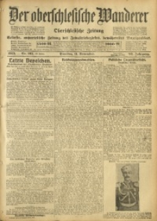 Der Oberschlesische Wanderer, 1913, Jg. 86, Nr. 261
