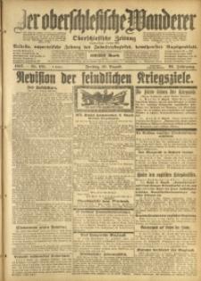 Der Oberschlesische Wanderer, 1917, Jg. 91, Nr. 181