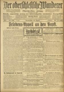 Der Oberschlesische Wanderer, 1917, Jg. 91, Nr. 186