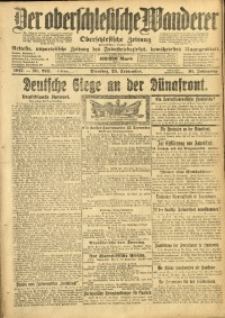 Der Oberschlesische Wanderer, 1917, Jg. 91, Nr. 220