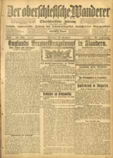 Der Oberschlesische Wanderer, 1917, Jg. 91, Nr. 237