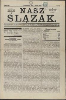 Nasz Ślązak, 1926, Nry 19, 25, 49