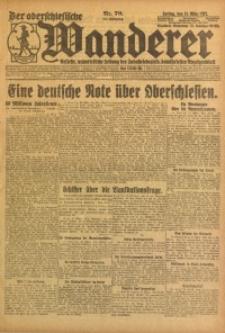 Der Oberschlesische Wanderer, 1922, Jg. 94, Nr. 70