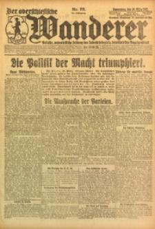 Der Oberschlesische Wanderer, 1922, Jg. 94, Nr. 75
