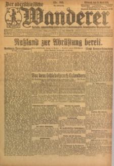 Der Oberschlesische Wanderer, 1922, Jg. 94, Nr. 86