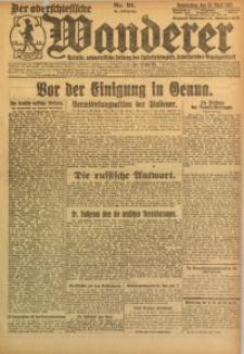 Der Oberschlesische Wanderer, 1922, Jg. 94, Nr. 91