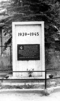 Jankowice - pomnik 1939 - 1945
