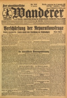 Der Oberschlesische Wanderer, 1922, Jg. 94, Nr. 213