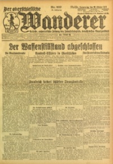 Der Oberschlesische Wanderer, 1922, Jg. 94, Nr. 237