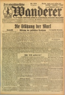 Der Oberschlesische Wanderer, 1922, Jg. 94, Nr. 250
