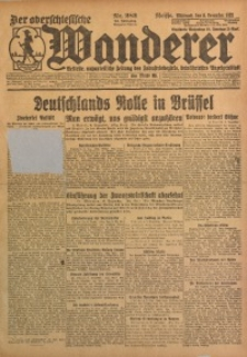 Der Oberschlesische Wanderer, 1922, Jg. 94, Nr. 282