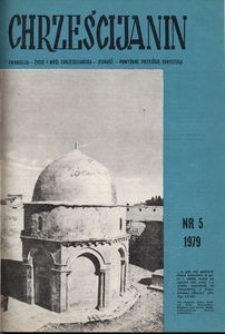 Chrześcijanin, 1979, nr 5