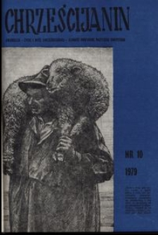 Chrześcijanin, 1979, nr 10