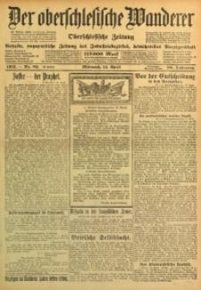 Der Oberschlesische Wanderer, 1915, Jg. 88, Nr. 82