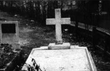 Łąka - mogiła dwóch powstańców śląskich poległych 20.08.1919r.