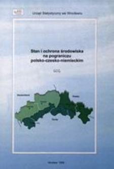 Stan i ochrona środowiska na pograniczu polsko-czesko-niemieckim