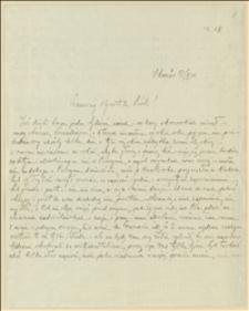 List Bogusława Kunca, kadeta ze Skoczowa do Tadeusza Regera z 27.10.1914