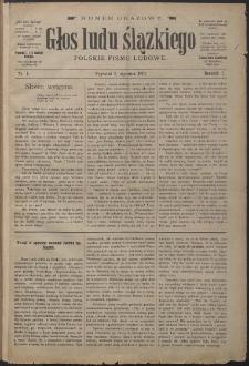 Głos Ludu Śląskiego, 1897, Nry 1-24