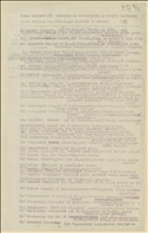 Wykaz legionistów uznanych za niezdolnych do służby wojskowej przez komisję superrewizyjną legionów w Kętach