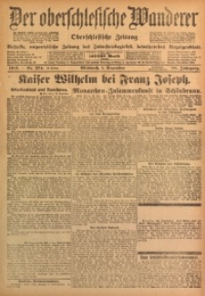 Der Oberschlesische Wanderer, 1915, Jg. 88, Nr. 274
