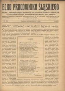 Echo Pracownika Śląskiego, 1928, R. 9, nr 8-9
