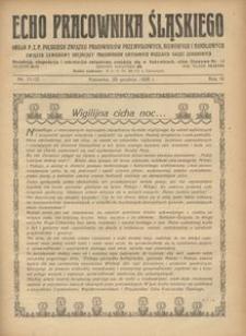 Echo Pracownika Śląskiego, 1928, R. 9, nr 11-12