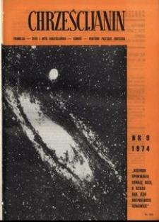 Chrześcijanin, 1974, nr 9