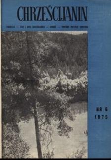 Chrześcijanin, 1975, nr 6