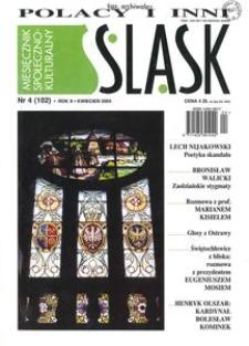 Śląsk, 2004, R. 10, nr 4