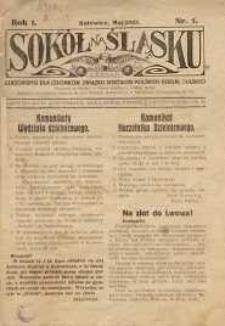 Sokół na Śląsku, 1922, R. 1, Nr. 5