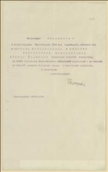 Zaproszenie z 19.11.1914 r. na posiedzenie Rozszerzonej Sekcji Śląskiej NKN w dniu 22.11.1914 w Domu Robotniczym w Orłowej