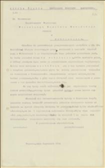 Pismo Sekcji Śląskiej NKN do Departamentu Wojskowego NKN w Jabłonkowie z 05.11.1914 r. w sprawie zatrudnienia zwolnionych legionistów w hucie żelaza w Witkowicach i w kopalniach, oraz zatrzymania rekonwalescentów w Boguminie
