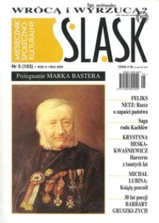 Śląsk, 2004, R. 10, nr 5