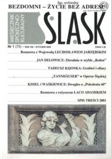 Śląsk, 2002, R. 8, nr 1
