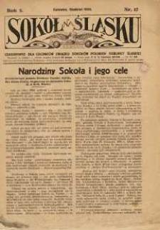 Sokół na Śląsku, 1926, R. 5, Nr. 12